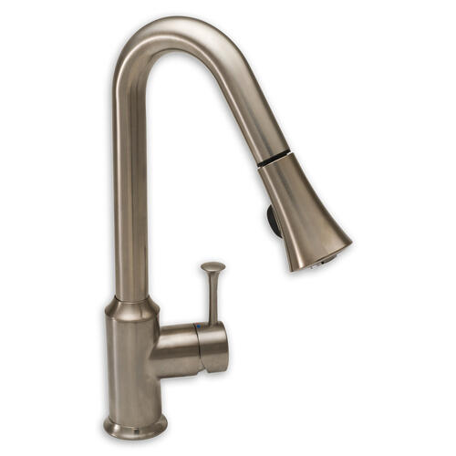 Pekoe 1-Handle Pull Down 1.5 GPM High-Arc Kitchen Faucet  American Standard - Stainless Steel