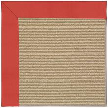 Creative Concepts-Sisal Canvas Paprika Machine Tufted Rugs