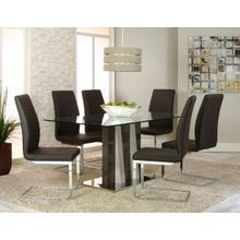 Heka W/portobello Side Chairs 7 Piece Set