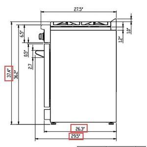 "Gallery - Lseo - Professional 30"" Freestanding Gas Range"