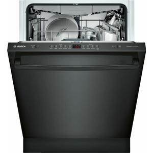 Bosch100 Series Dishwasher 24'' Black SHXM4AY56N