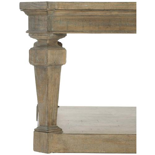 Villa Toscana Rectangular Cocktail Table in Criollo (302)