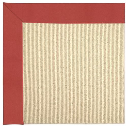 Creative Concepts-Beach Sisal Canvas Paprika Machine Tufted Rugs