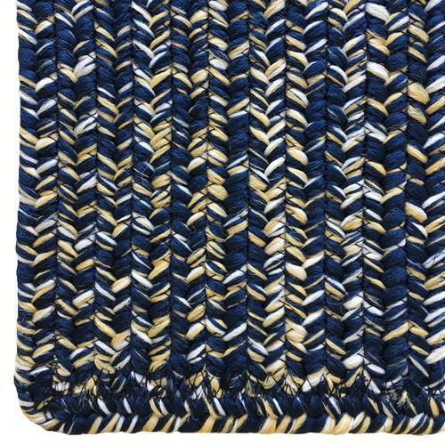 Team Spirit Navy Gold Braided Rugs