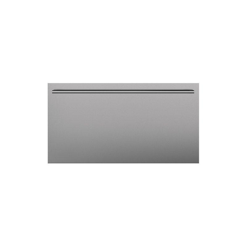 Stainless Steel Flush Inset Drawer Panel with Tubular Handle