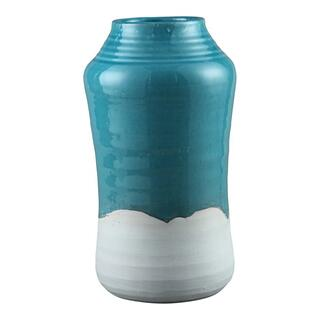 Border Vase Light Blue