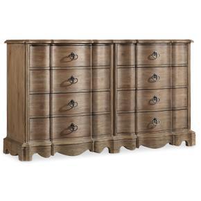 Corsica Eight Drawer Dresser