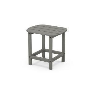 Polywood Furnishings - South Beach Side Table - Grey
