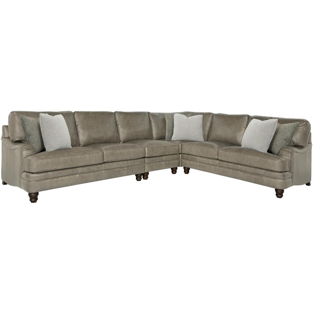 Tarleton Sectional in Mocha (751)