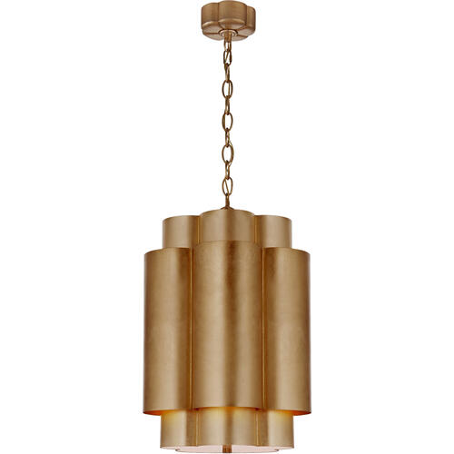 AERIN Arabelle 6 Light 17 inch Gild Hanging Shade Ceiling Light, Tall
