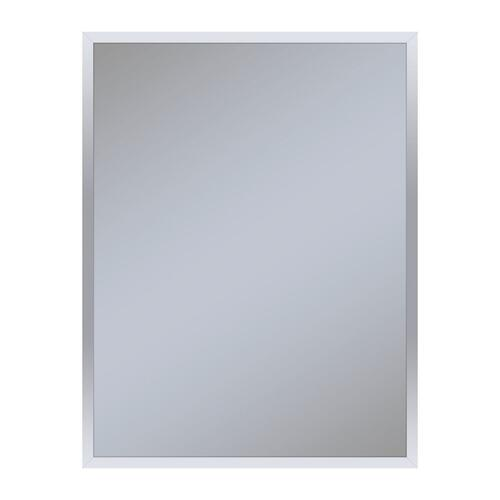 """Profiles 23-1/4"""" X 30"""" X 4"""" Framed Cabinet In Chrome and Non-electric With Reversible Hinge (non-handed)"""