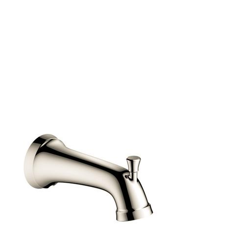Polished Nickel Tub Spout with Diverter