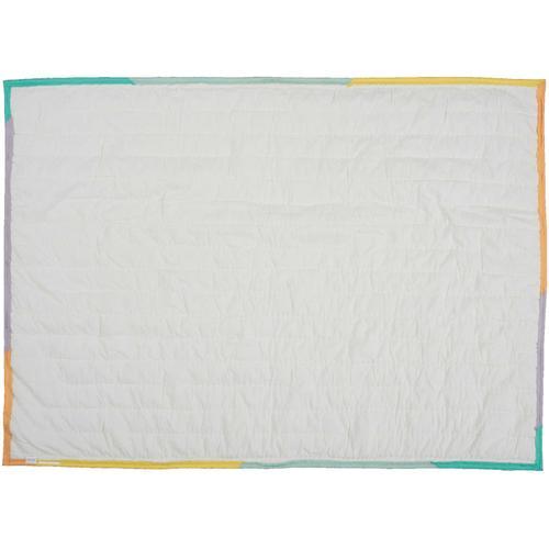 """Plush Cr365 Multicolor 36"""" X 48"""" Quilt"""