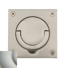 View Product - Satin Nickel with Lifetime Finish Flush Ring Pull