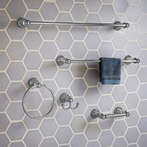 TR Series 18 Inch Towel Bar - Brushed Nickel