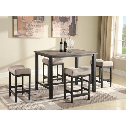 Gallery - Brooks 5-Piece Counterheight Pub Dining Set