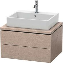 Vanity Unit For Console, Cashmere Oak