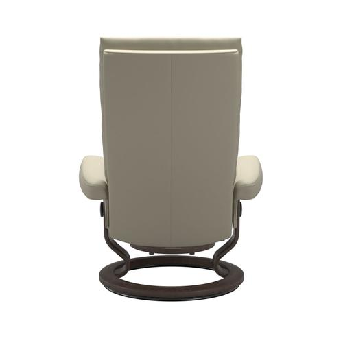 Stressless By Ekornes - Stressless® Aura (M) Classic chair with footstool