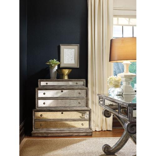Home Office Mirrored Lateral File