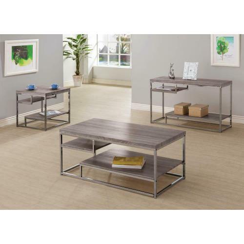 Modern Dark Grey Sofa Table