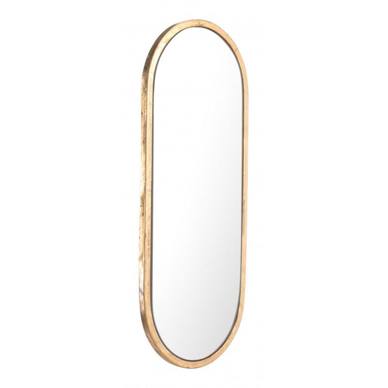 See Details - Oval Gold Mirror Gold