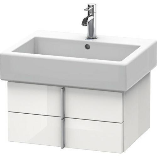 Duravit - Vanity Unit Wall-mounted, White High Gloss (lacquer)