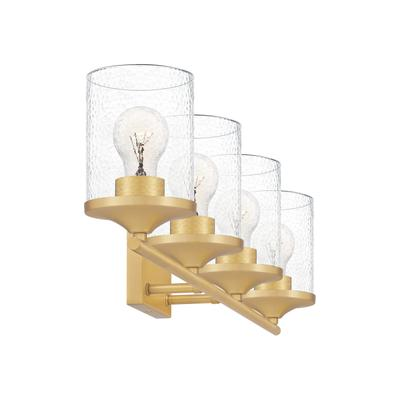 Abner Bath Light in Aged Brass