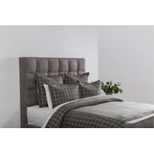 Hudson Plaid Gray King Duvet 108x94