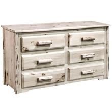 See Details - Montana Collection 6 Drawer Dresser