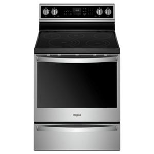 6.4 cu. ft. Smart Freestanding Electric Range with Frozen Bake™ Technology Product Image