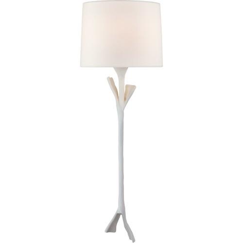AERIN Fliana 1 Light 9 inch Plaster White Tail Sconce Wall Light