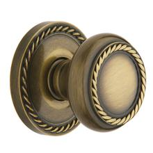 View Product - Satin Brass and Black 5064 Estate Knob