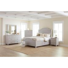 Chesapeake Dove King Storage Bed