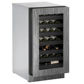 """18"""" Wine Refrigerator With Integrated Frame Finish and Field Reversible Door Swing (115 V/60 Hz Volts /60 Hz Hz)"""
