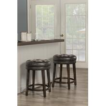 View Product - Krauss Backless Swivel Counter Stool - Charcoal Gray