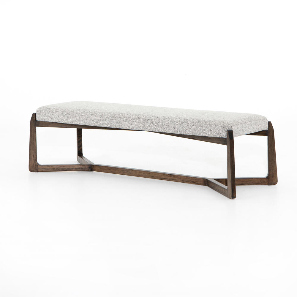 Roscoe Bench-brunswick Pebble