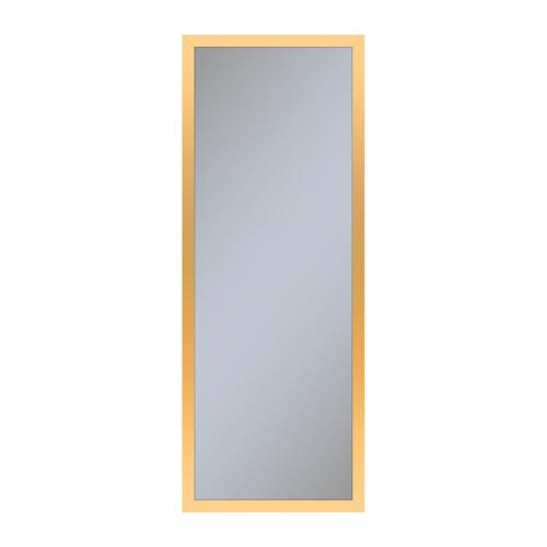 "Profiles 11-1/4"" X 30"" X 6"" Framed Cabinet In Matte Gold and Non-electric With Reversible Hinge (non-handed)"