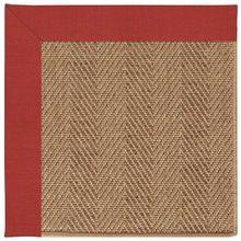 View Product - Islamorada-Herringbone Dupione Crimson