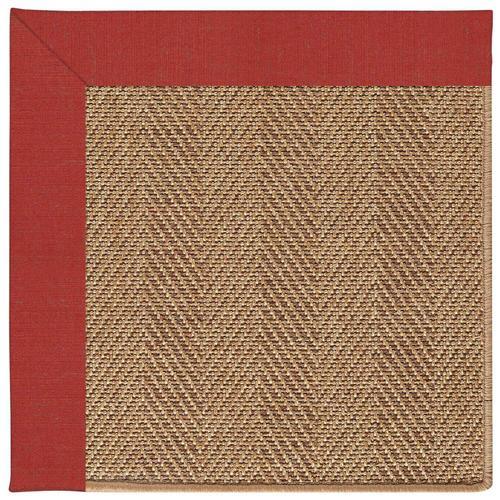 "Capel Rugs - Islamorada-Herringbone Dupione Crimson - Rectangle - 24"" x 36"""