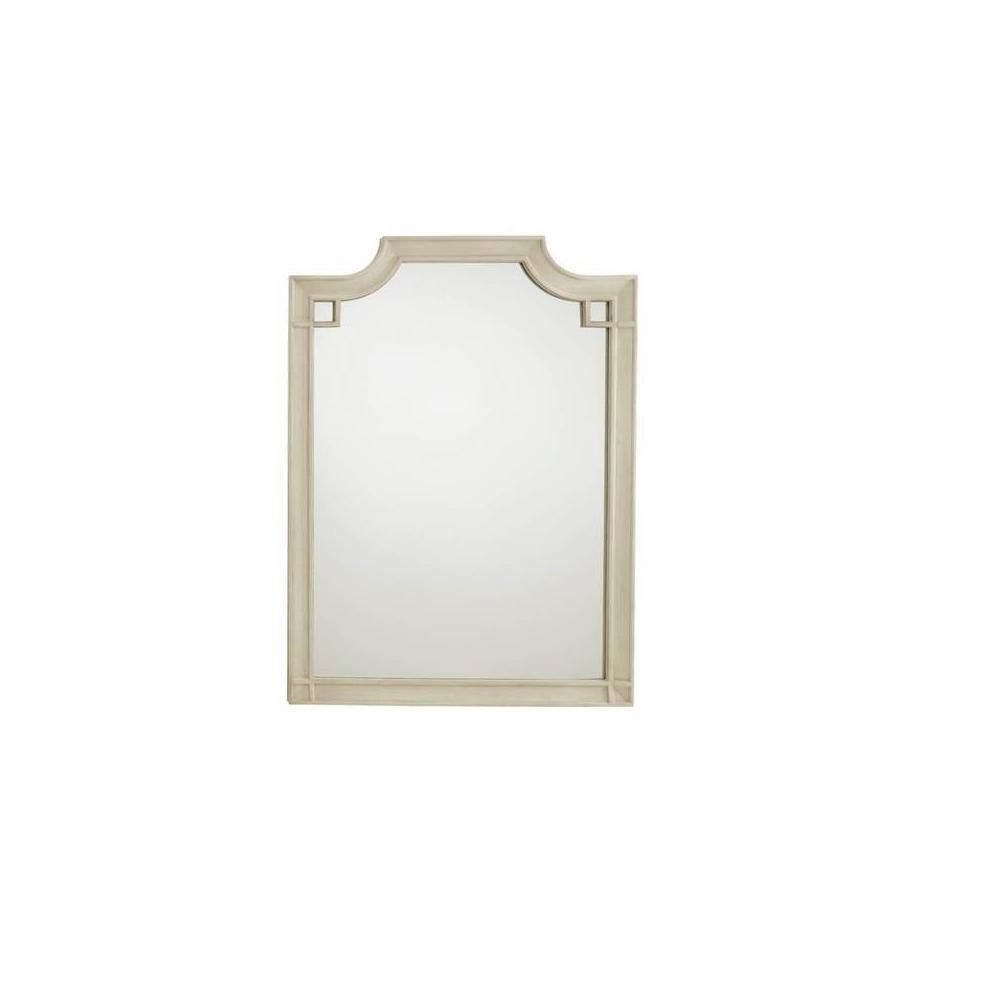 Latitude Vertical Mirror - Oyster