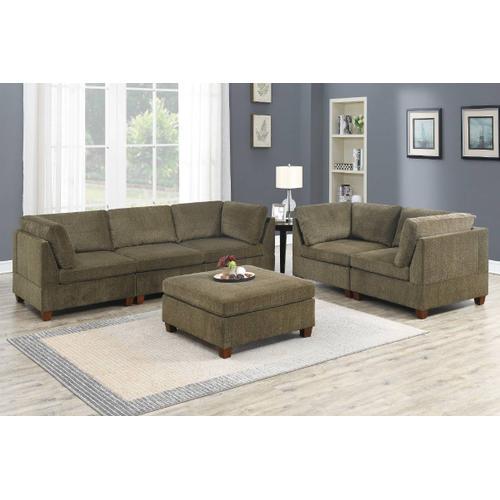 6-pcs Modular Sectional & Sofa Set