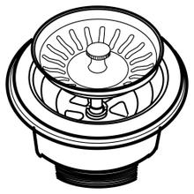 View Product - Basket Strainer 3.5-Inch (Colored) - white