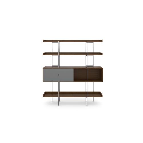 BDI Furniture - Margo 5201 Shelf in Toasted Walnut Fog Grey