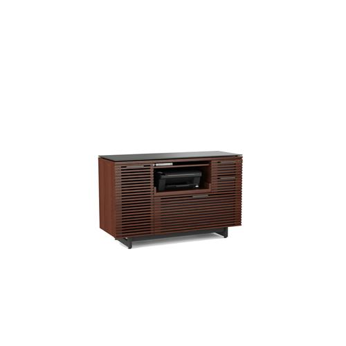 BDI Furniture - Corridor 6520 Multifunction Cabinet in Chocolate Stained Walnut
