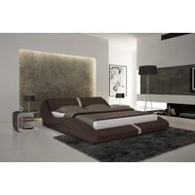 Modrest S603 - Contemporary Eco-Leather Bed