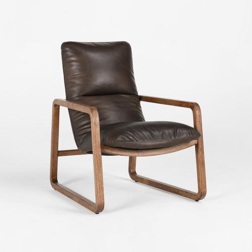 Classic Home - Atticus Accent Chair Brown