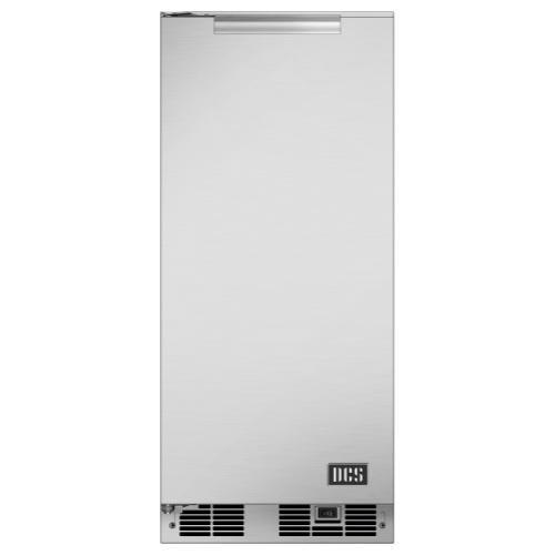 "DCS - 15"" Outdoor Ice Machine, Left Hinge"