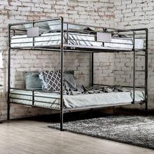 See Details - Olga Queen/queen Bunk Bed