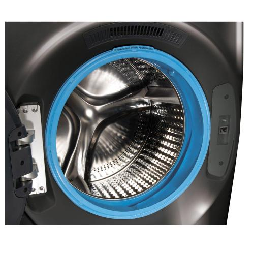 GE® 4.8 cu. ft. Capacity Smart Front Load ENERGY STAR® Washer with UltraFresh Vent System with OdorBlock™ and Sanitize w/Oxi