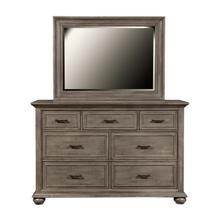 Chatham Park 7 Drawer Dresser in Warm gray